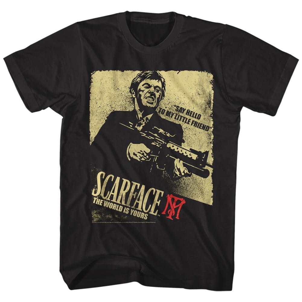 Scarface Say Hello To My Little Friend Movie Pacino Tony Montana