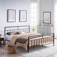 Christopher Knight Home Mowry Industrial Queen-Size Bed Frame by