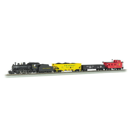Bachmann Trains Echo Valley Express  Ho Scale Ready To Run Electric Train Set With Sound Value Equipped Locomotive