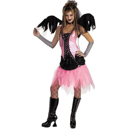 Scary Fairy Costumes (Graveyard Fairy Adult Costume Gothic Fairy Goth Theatre)