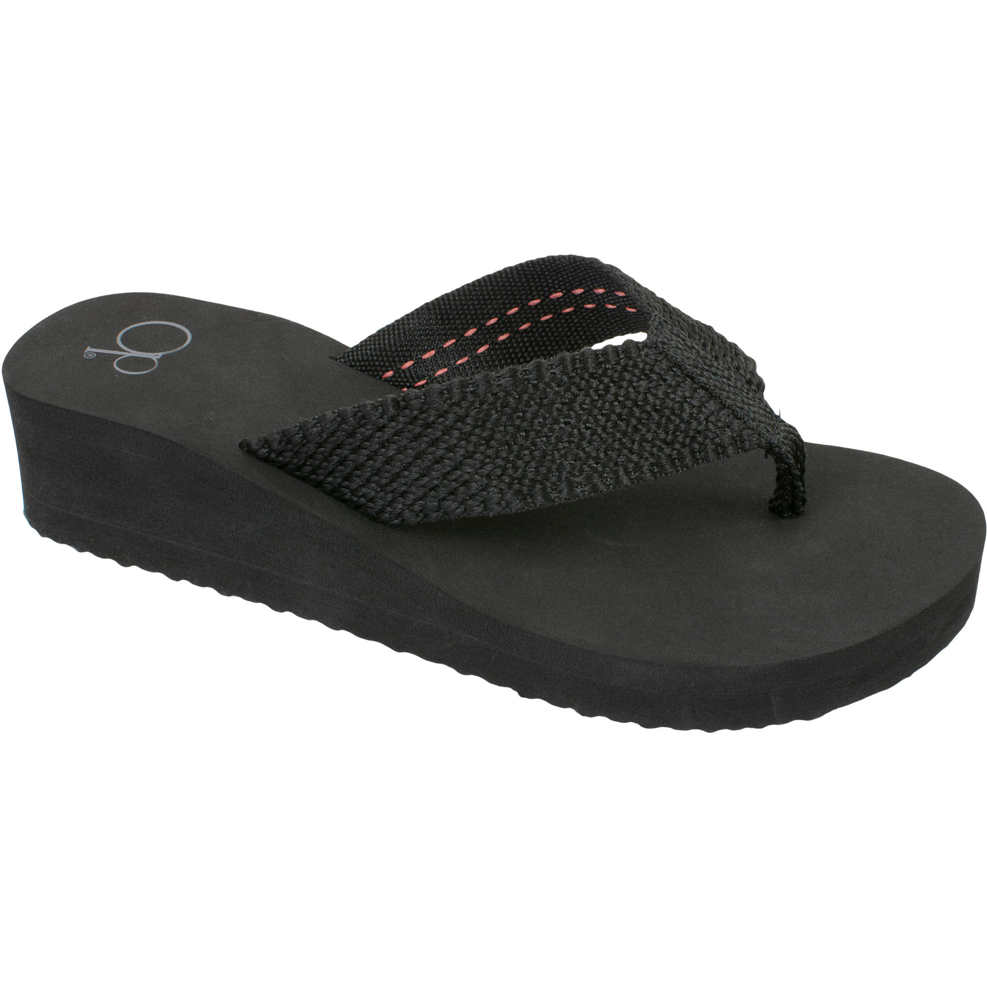 Black sandals juniors - Op Women S Eva Beach Flip Flop Sandal