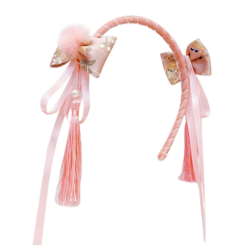 Pearl Headband-Beautiful Womens Girls Alice Hair Head Band Accessories-HOT PINK