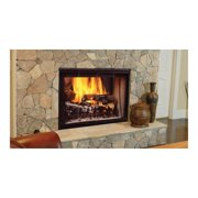 "42"" See Thru Radiant Wood Burning Fireplace"