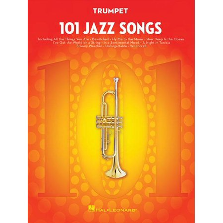 101 Jazz Songs for Trumpet (Paperback) Jazz Trumpet Solos Book