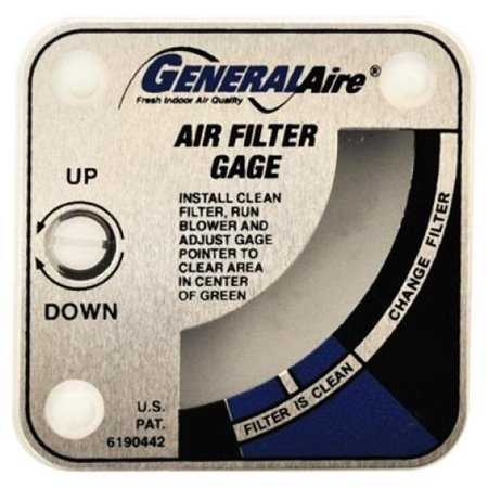 Generalaire 4002 G99 Media Air Cleaner Gage 0 1 To 0 4 Inches W C