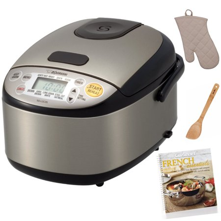Zojirushi Micom Rice Cooker and Warmer (3-Cup) with Cookbook and