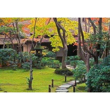 Rob Okochi Sanso Kyoto Japan - Okochi Sanso Arashiyama Kyoto Japan Stretched Canvas - Rob Tilley  DanitaDelimont (36 x 24)
