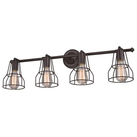 Vaxcel W0314 Clybourn Oil Rubbed Bronze Bathroom Light