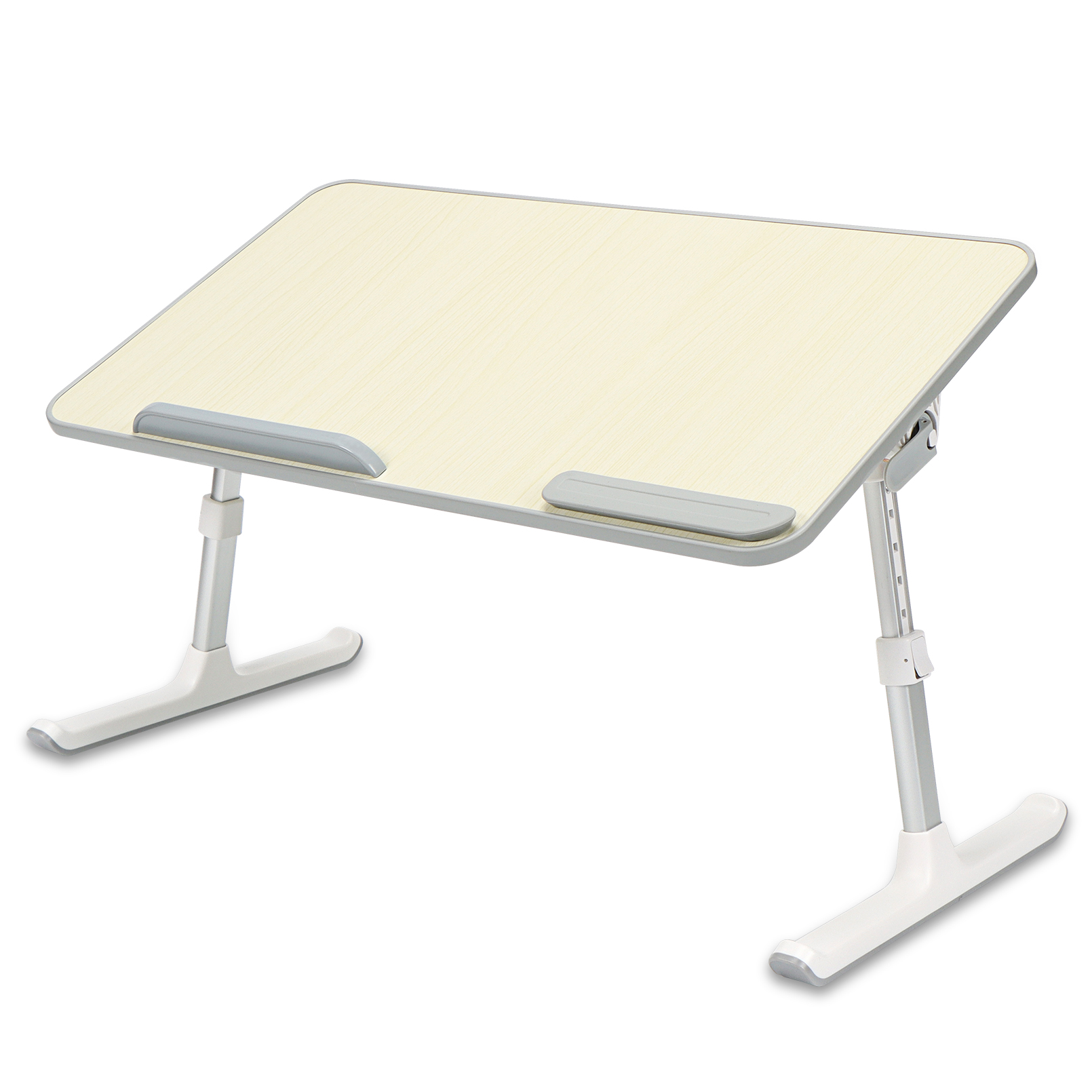 Ibama Portable Laptop Stand Table Height And Angle Adjustable Desk Lightweight Folding Table For Writing And Working In Bed Sofa And Couch Updated Walmart Com Walmart Com
