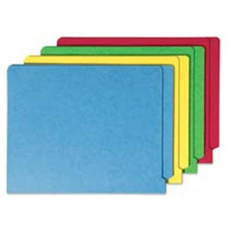 End Tab Folder- Straight Tab Cut- Letter- 9-.50in.H- GN - image 1 de 1