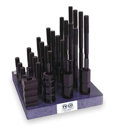 TE-CO 20611 T-Nu/Stud Kit,Use W/ 13/16 In,38 Pcs