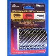 TRIMBRITE T1858 Carbon Fiber, Black, 3 inch X 6 Ft.