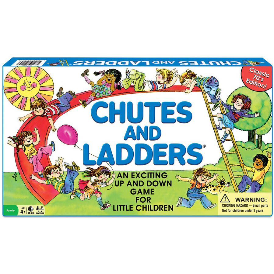 Winning Moves Classic Chutes and Ladders by Winning Moves