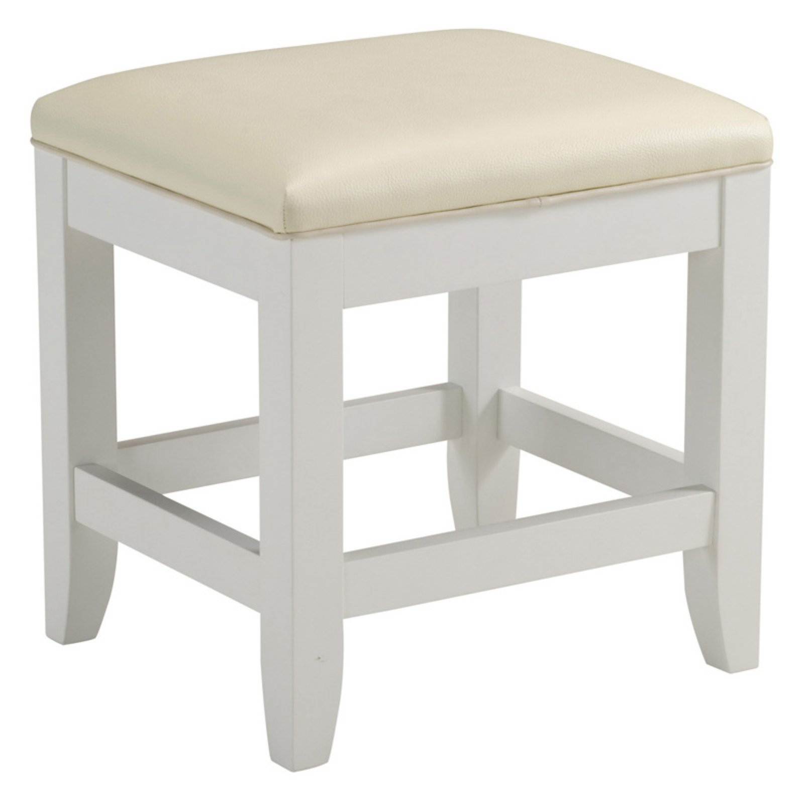 Home Styles Naples Vanity Bench, White by Generic