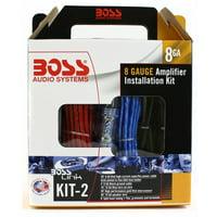 Boss Audio KIT2 8 Gauge Amplifier Installation Wiring Kit