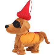 gemmy animated dancing weiner dog halloween decoration - Animated Halloween Decorations