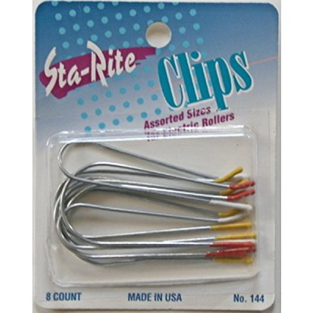 Sta-Rite Hot Roller Clips For Electric Rollers (Assorted)