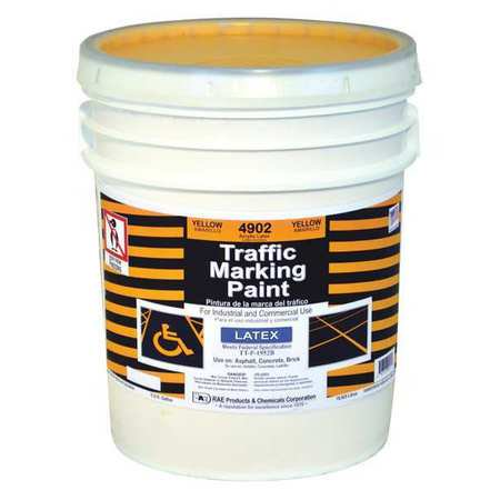 RAE Traffic Zone Marking Paint,18.9L,Yellow