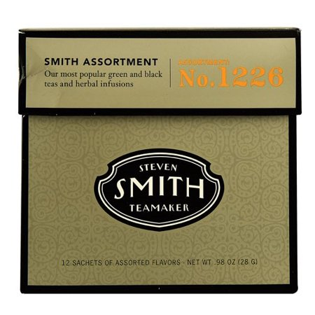 Smith Teamaker Tea Assortment Number 1226 Tea Bags, 12 Count