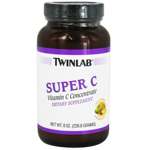 Twinlab Super C Vitamin C Concentrate, Dietary Supplement - 8 Oz