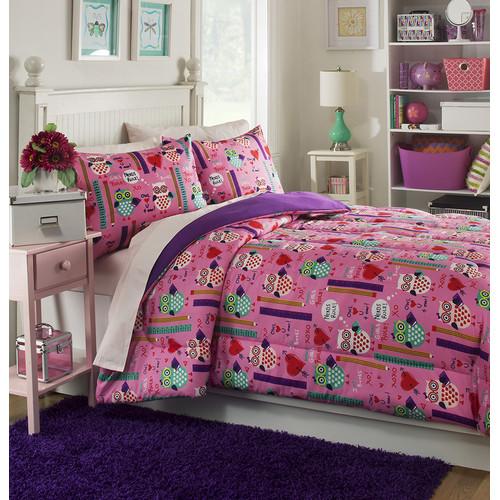 Josh & Posh Kidz Girls Rule 3 Piece Comforter Set