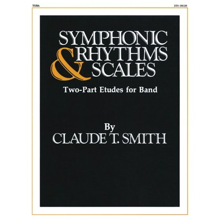 Hal Leonard Symphonic Rhythms & Scales (Two-Part Etudes for Band and Orchestra Tuba (B.C.)) Concert Band Level 2-4 Hal Leonard Master Scale
