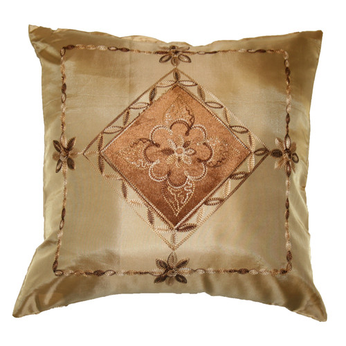 Astoria Grand Wendell Embroidered Diamond Decorative Pillow Cover