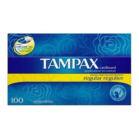 - Tampax Regular Absorbency Tampons with Flushable Applicator 20 ct