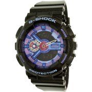 Women's G- Shock GMAS110HC-1A Black Plastic Quartz Watch