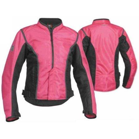 Contour Mesh Womens Jacket, Manufacturer: Firstgear, CONTOUR MESH JKT PNK/BLK WXL FTJ.1308.07.W004 ()