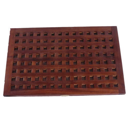 Decoteak Lattice Shower Mat