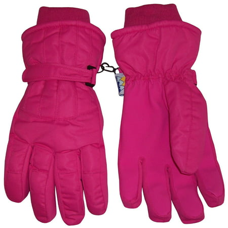 NICE CAPS Womens Ladies Adults Cold Weather Thinsulate Waterproof Ridges Winter Ski Snow Gloves](Long Blue Satin Gloves)