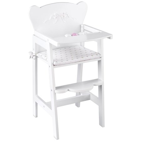Doll High Chair Set - KidKraft Tiffany Lil Bow Doll High Chair