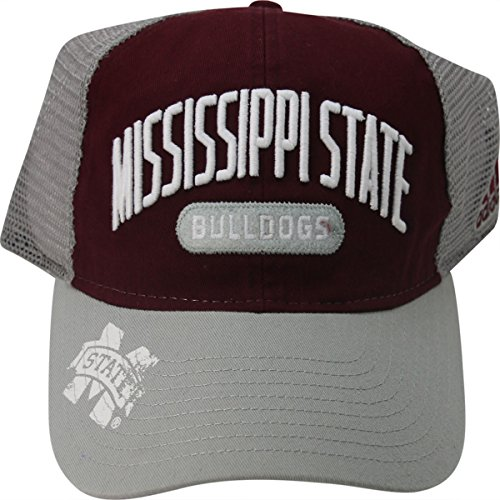 Mississippi State Bulldogs Trucker Mesh Back Adult Cap Hat