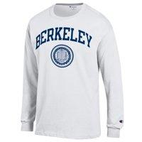 U.C. Berkeley Arch & Seal Long Sleeve Champion T-Shirt-White