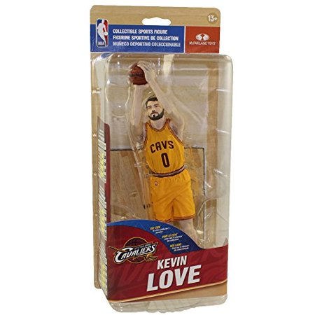 Kevin Johnson Nba - McFarlane Toys NBA Series 28 Kevin Love Action Figure [Yellow Jersey]