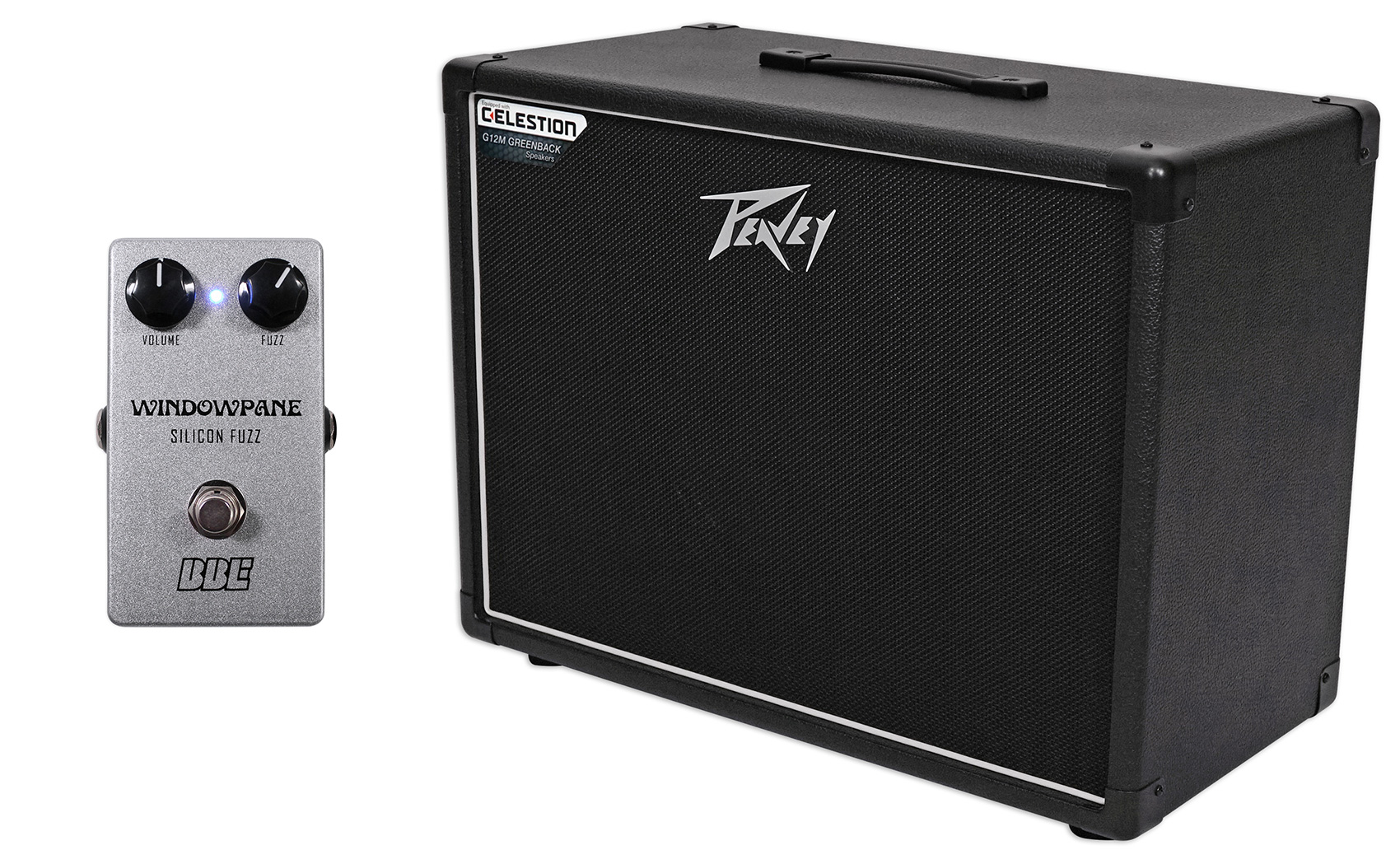 """Peavey 112-6 Extension Guitar Cabinet, 12"""" Celestion Speaker + Free Effect Pedal by Peavey"""