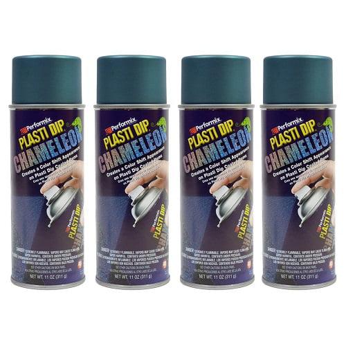 Performix Plasti Dip 11255 Blue/Green Chameleon Rubber Spray 4 PACK