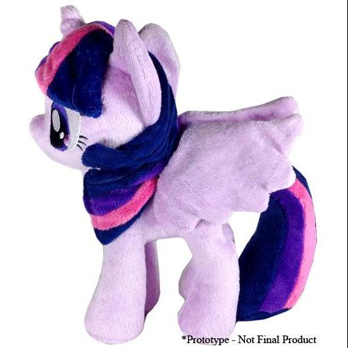 Hasbro 4THMLP-11 10.5 in. Little Pony Twilight Sparkle Open Big Wings Plush Toy by Hasbro