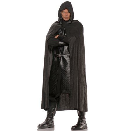 Deluxe Hooded Cape (Black) - Black Cape Hood