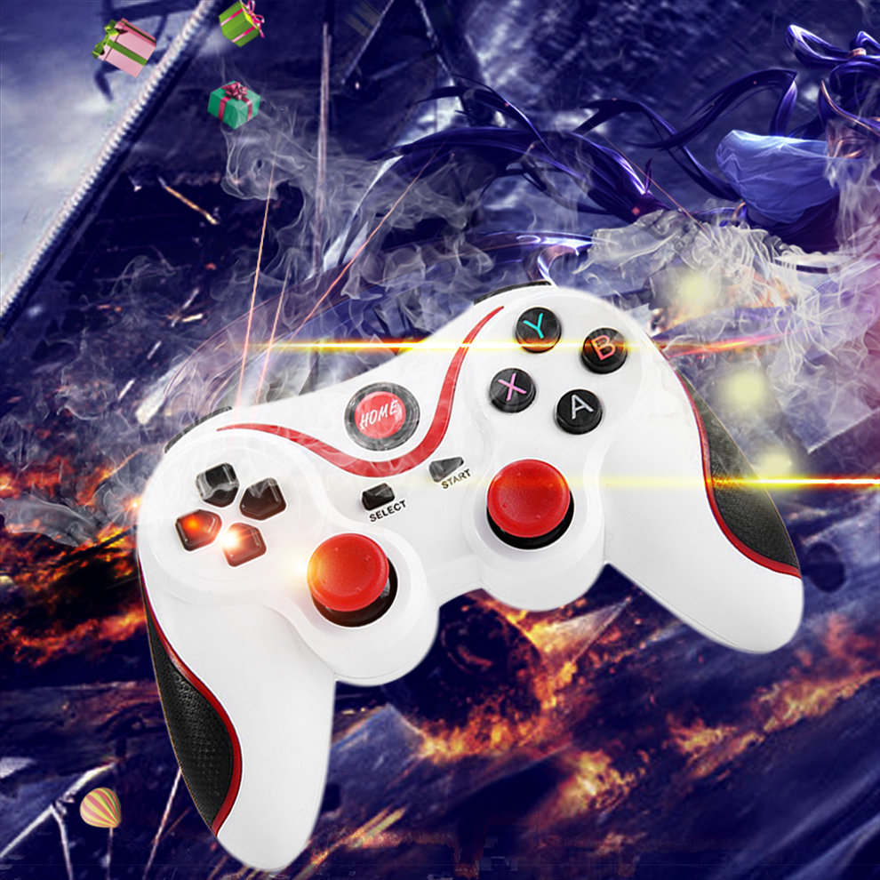 2015 T3 Android Wireless Bluetooth Gamepad Gaming Remote Controller Joystick BT 3.0 for Android Smartphone Tablet PC TV Box
