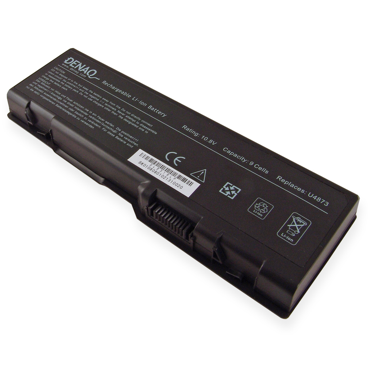 Denaq DENAQ 9-Cell 7800mAh Li-Ion Laptop Battery for DELL Inspiron 6000, 9200, 9300, 9400, E1705, XPS GEN 2; DELL Precision M6300, M90; DELL XPS M170, M1710