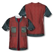 Back To The Future - Future Jacket - Short Sleeve Shirt - Medium