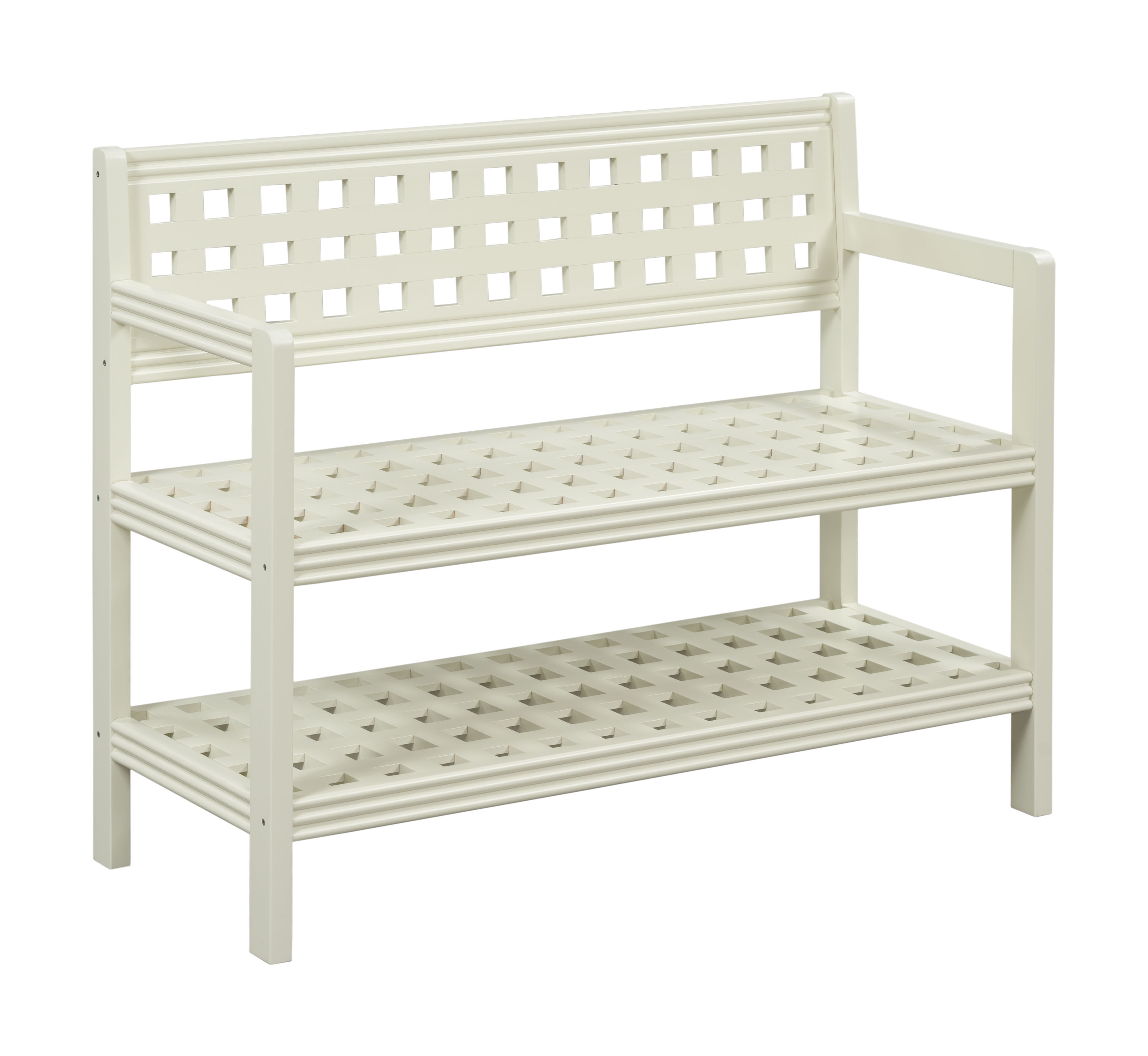 Beaumont Solid Birch Wood Large Bench with Back