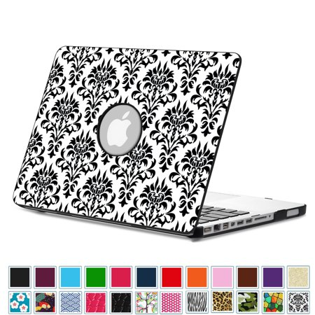 finest selection b19fb dfe7e Fintie MacBook Pro 13 Case (Non-Retina) with PU Leather Coated Plastic Hard  Cover Snap On Protective Cover, Versailles