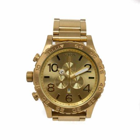 Nixon Wood Watch - Pre-Owned Nixon Tide 51-30 Steel  Watch (Certified Authentic & Warranty)