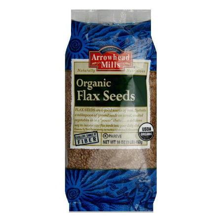 Arrowhead Mills Flax Seed, 16 OZ (Pack of 6)