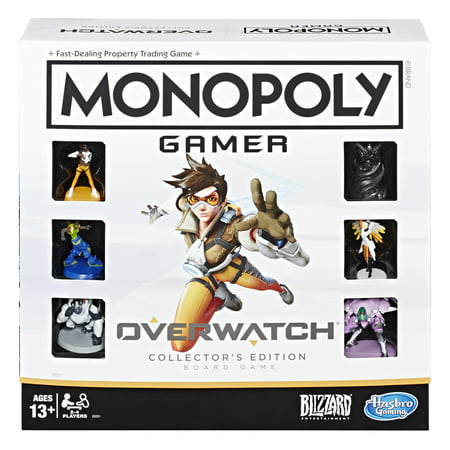 Monopoly Gamer Overwatch Collector's Edition Board Game Now $9.99 (Was $49.99)