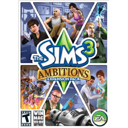 Ea The Sims 3 Ambitions Simulation Game   Complete Product   Standard   1 User   Retail   Pc  Mac  Intel Based Mac   Electronic Arts 19453