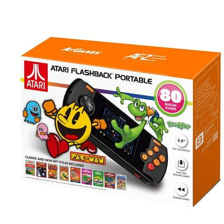 Atari Flashback Portable 2018 Game Player Model #AP3280, 818858029506 Classic Atari Arcade Games